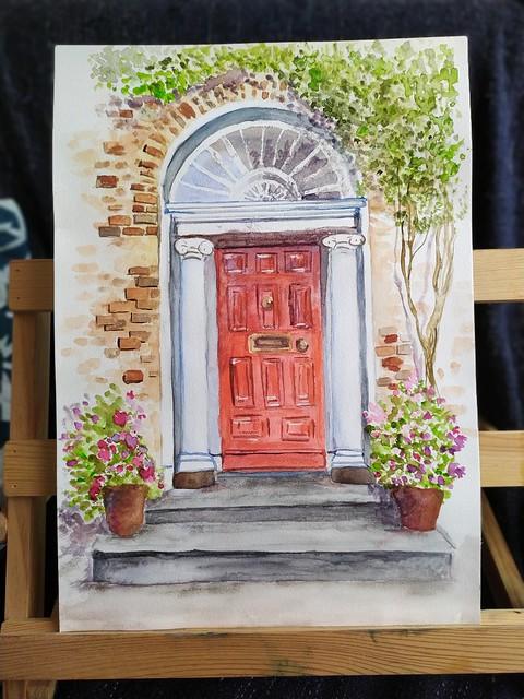 La porte de Dublin