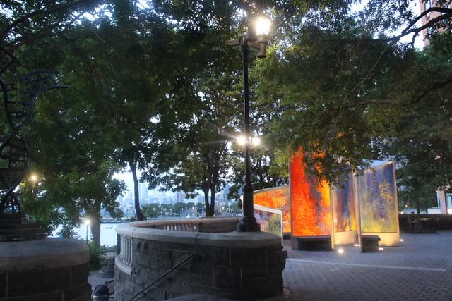 Hurricane Maria Memorial, NYC