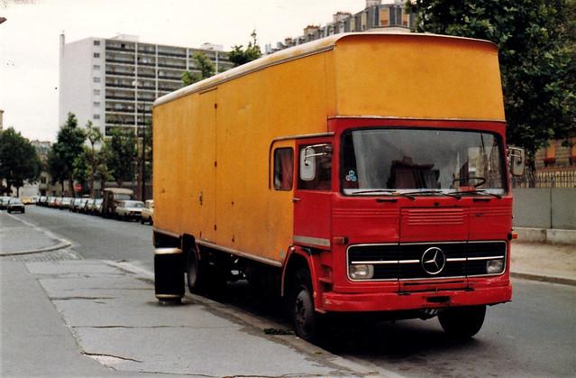Mercedes LP Fourgon Alforville (94 Val de Marne) 1990a