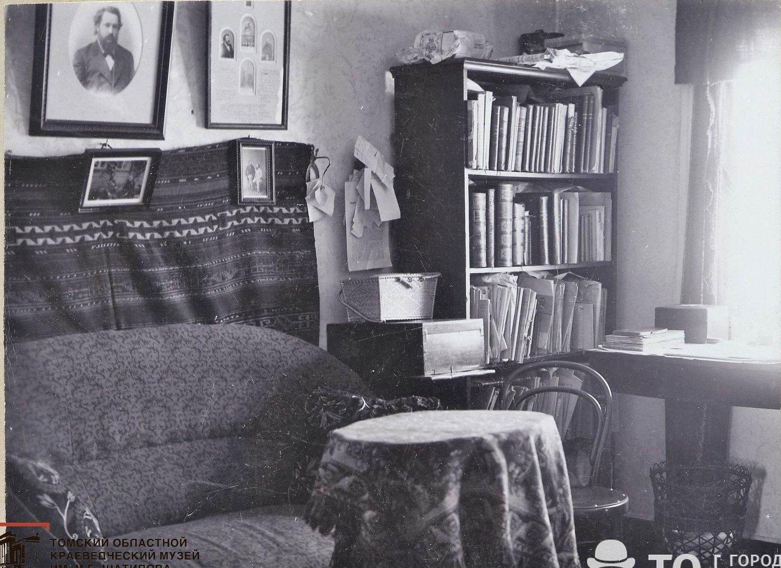 Кабинет врача В.И. Семидалова. 1896 г. Москва
