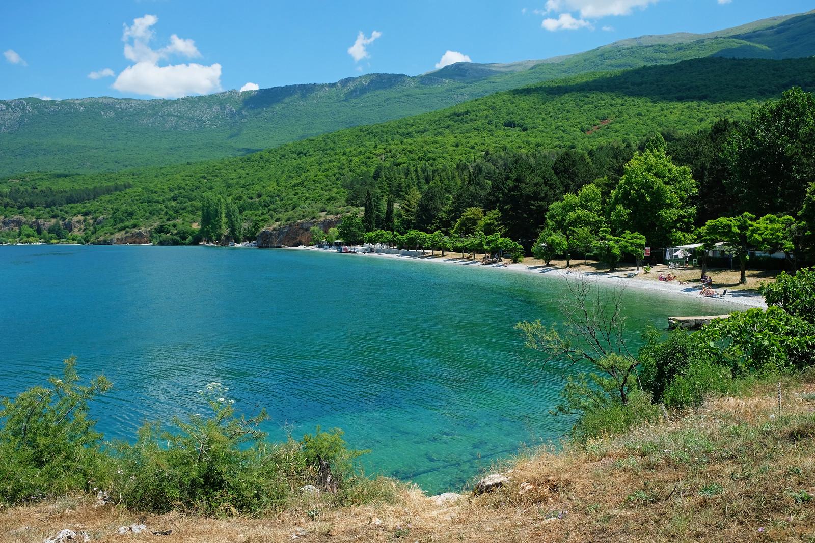 Gradishte beach, North Macedonia