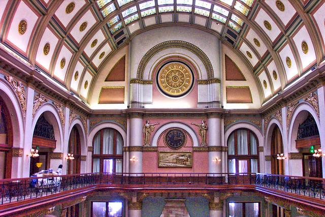 Scranton Pennsylvania  - The Radisson Lackawanna Station Hotel - Rooms  - Former Railroad Station