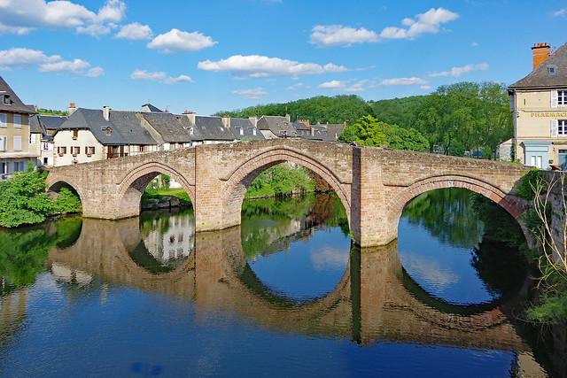 Espalion (Aveyron) : le Pont-Vieux