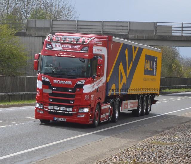 MJS Transport CS18 MJS At Welshpool