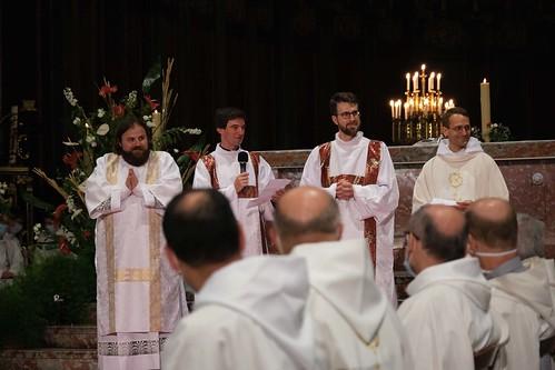 Ordinations du 27 juin 2021 - Cathédrale de Bordeaux