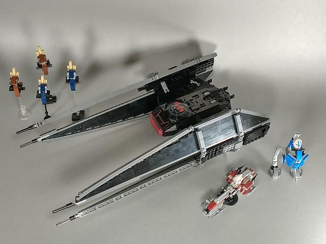Lego tie silencer comparison