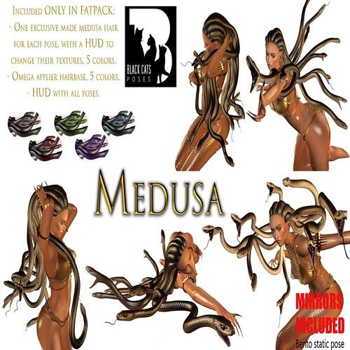 Black Cats Creations - Medusa Fatpack