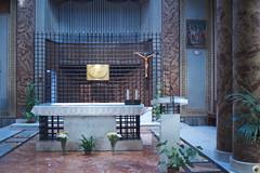 El altar del rellano santo.