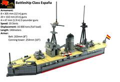 España Class Battleship -118