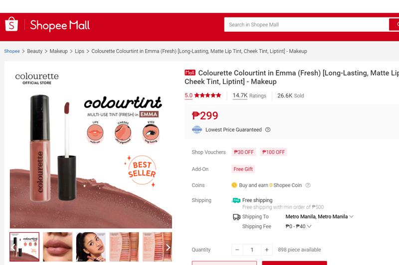 Colourette Cosmetics