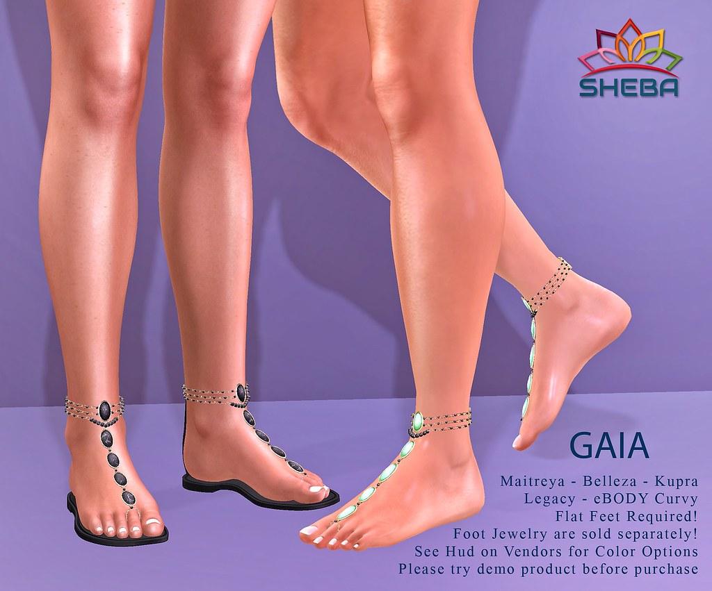 [Sheba] Gaia Sandals & Foot Jewelry @Cosmopolitan Event