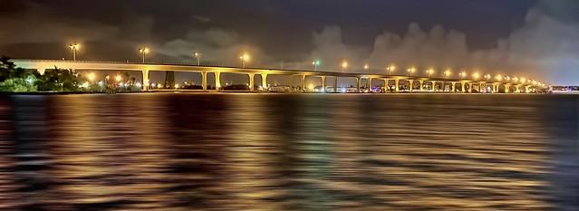 Roosevelt Bridge, City of Stuart, Martin County, Florida, USA