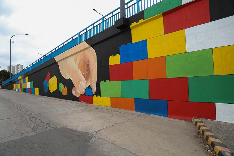 Córdoba tiene su primer Puente Lego (3)