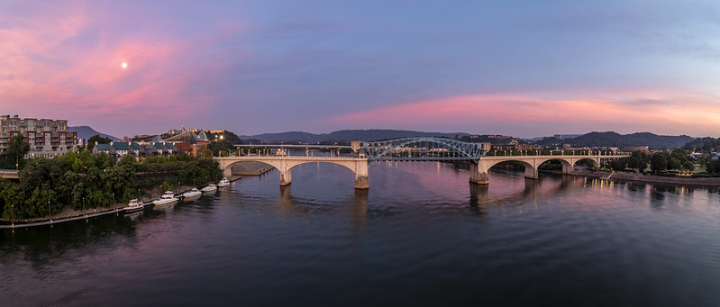 Sunrise, Tennessee River, Chattanooga, Tennessee 6