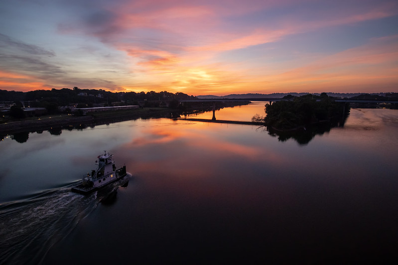 Sunrise, Tennessee River, Chattanooga, Tennessee 4