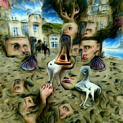 'surrealism' VQGAN Gumbel Text-to-Image