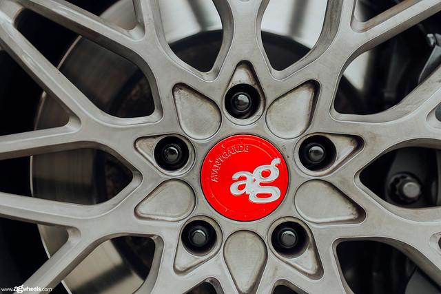 Lexus LC500 AG Wheels SR10 Brushed Grigio
