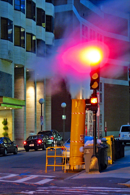 Red Light and Steam
