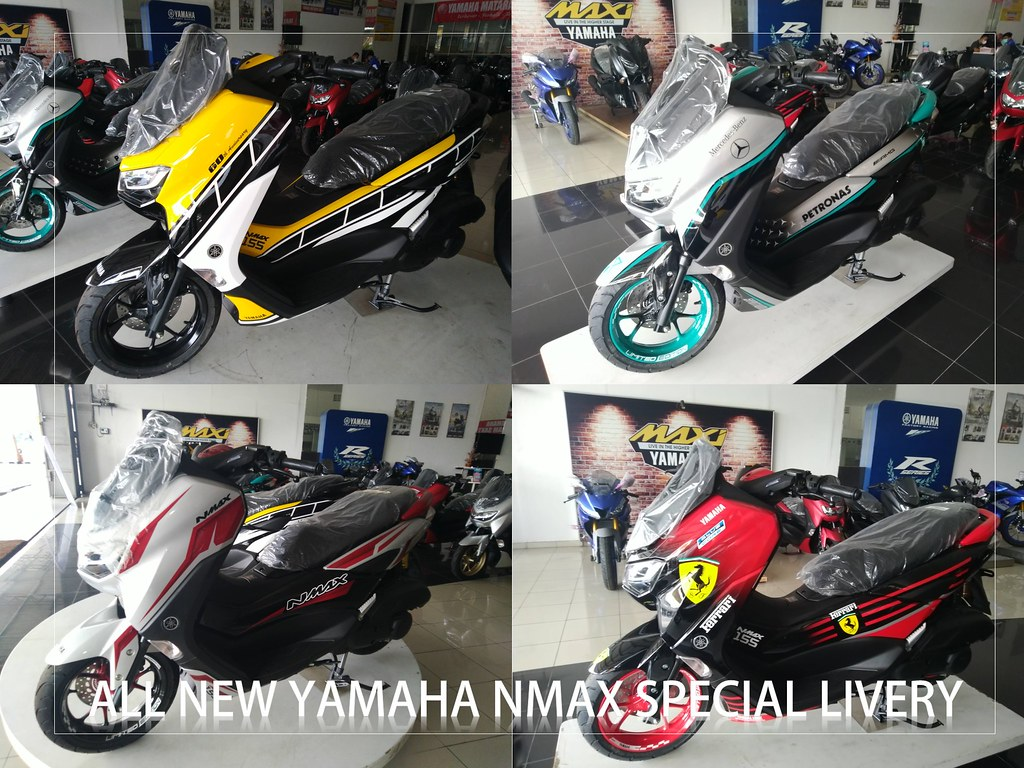 all new nmax special livery