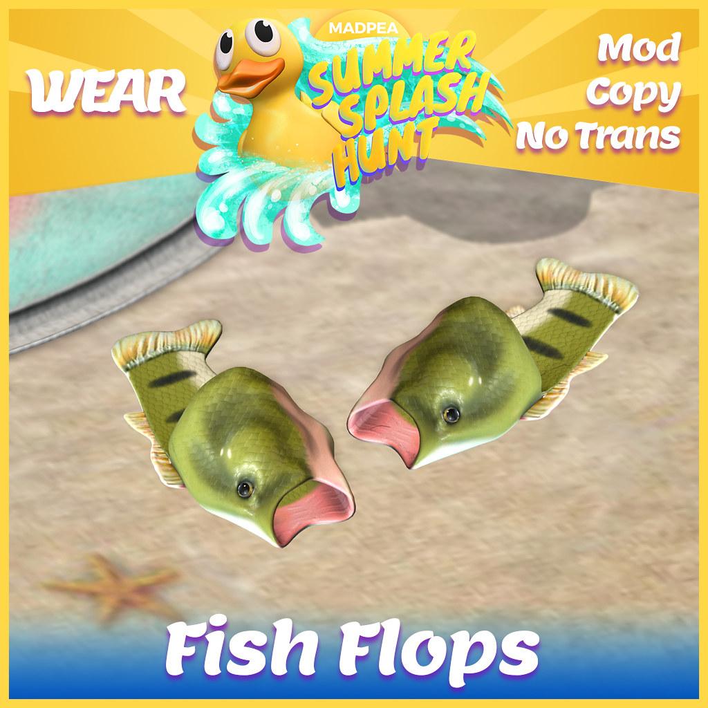 Summer Hunt Prize Reveal: Fish Flops