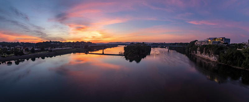 Sunrise, Tennessee River, Chattanooga, Tennessee 2