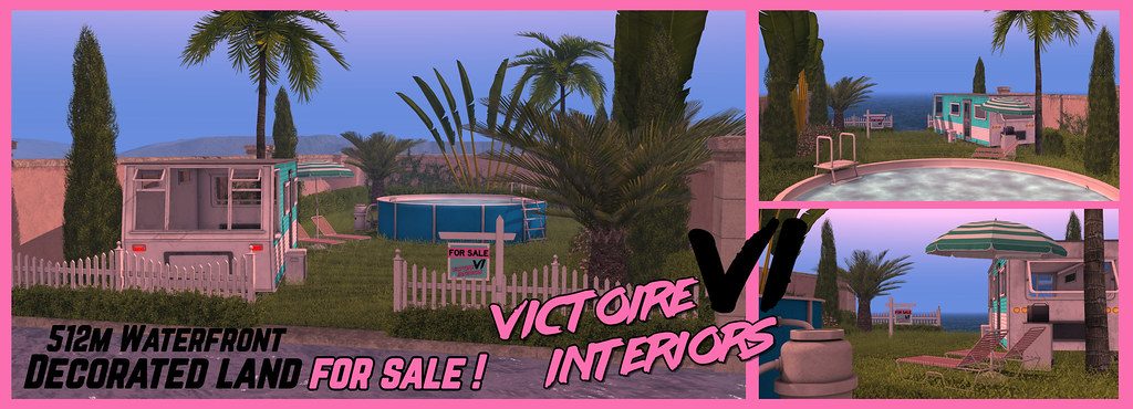 """""""1980s Trailer Theme"""" – Decorated x1 Unblockable ocean View x1 Protected waterway FOR SALE by Victoire Interiors"""