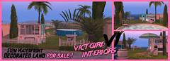 """""""1980s Trailer Theme"""" - Decorated x1 Unblockable ocean View x1 Protected waterway FOR SALE by Victoire Interiors"""