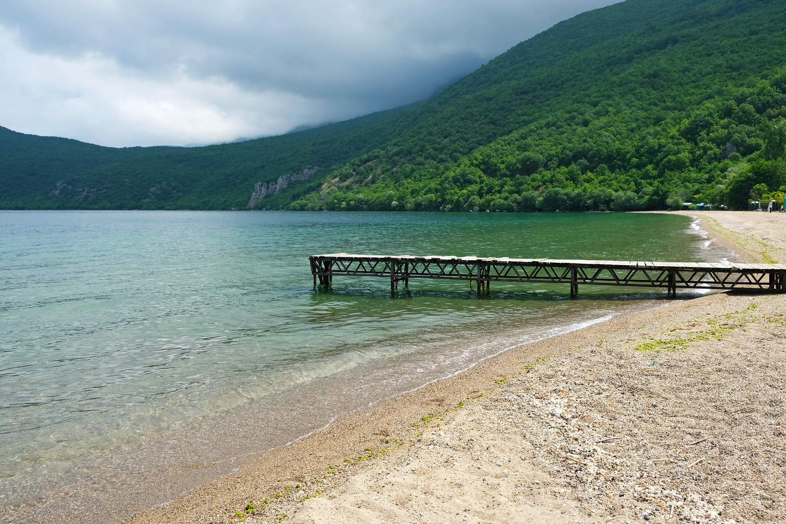 Ljubanista beach, North Macedonia