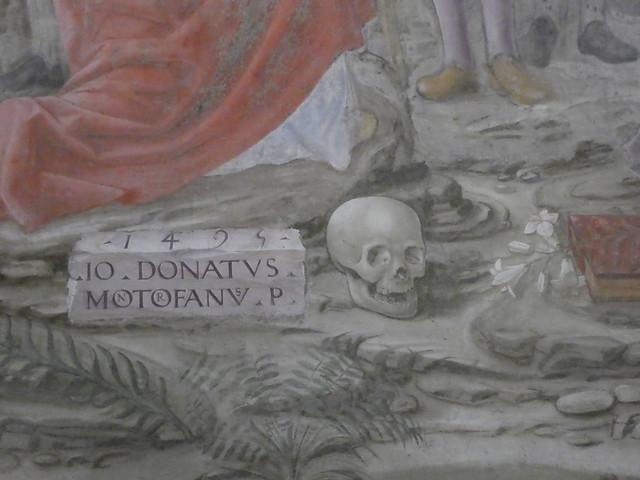 Giovanni Donato da Montorfano - Crucifixion (detail)