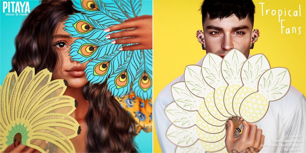 Pitaya – Tropical Fans @ Blanc