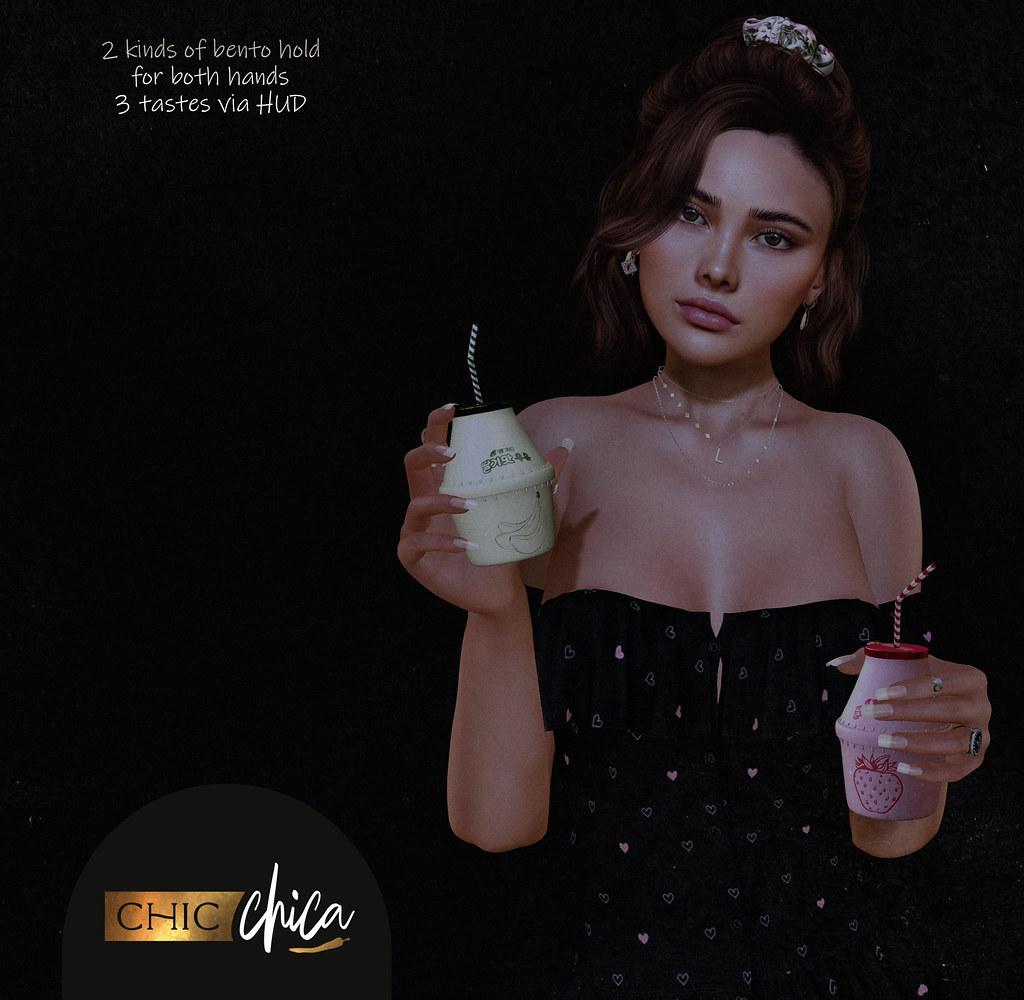 Fruit milk by ChicChica @ Cosmopolitan