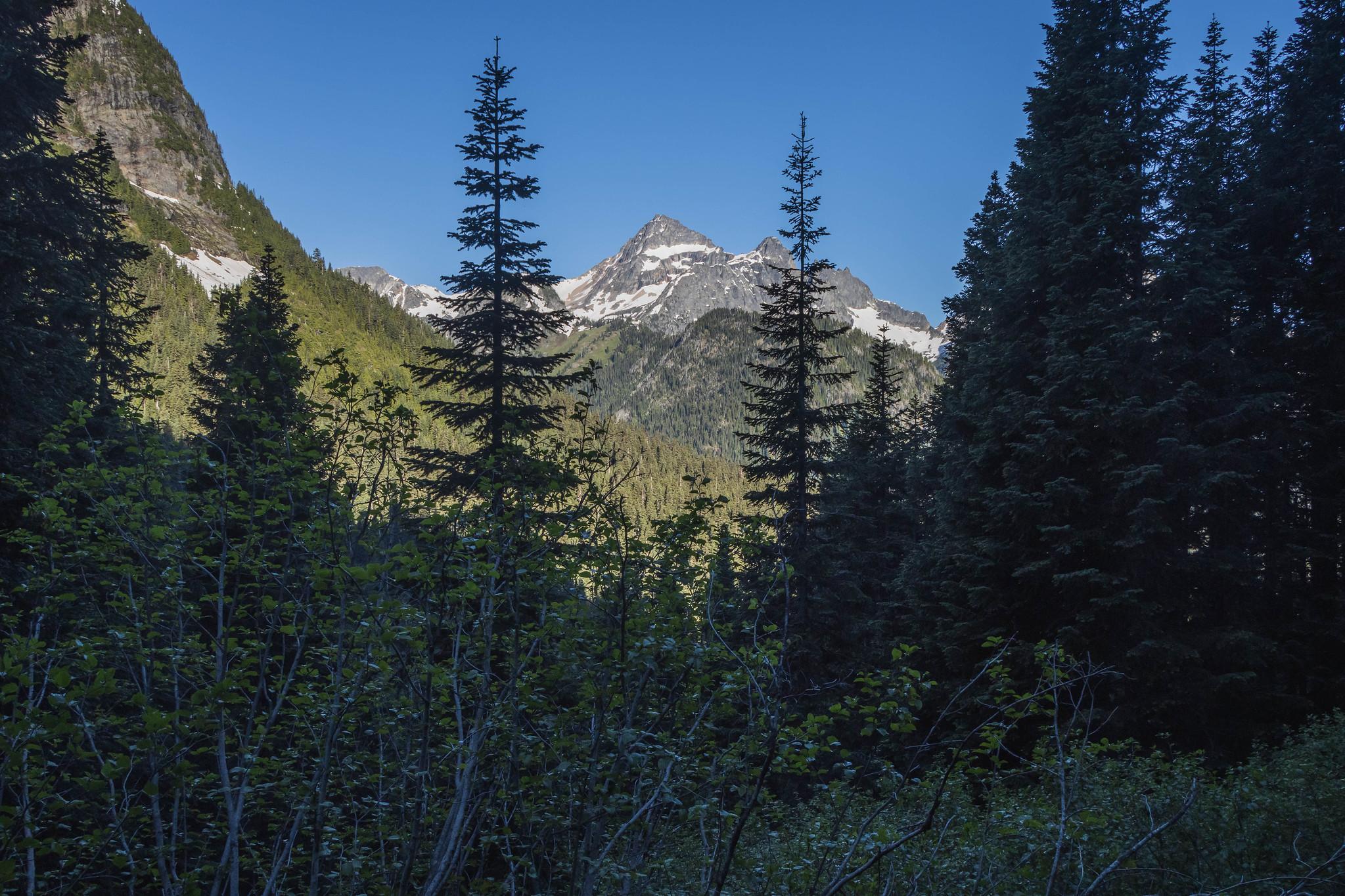 Seeing Black Peak