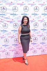 Jeanette Aguilar Harris at the Capitol Barbie Premiere in Albuquerque - DSC_0090