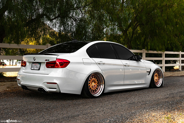 BMW F80 M3 AG Wheels F141 Polished Copper