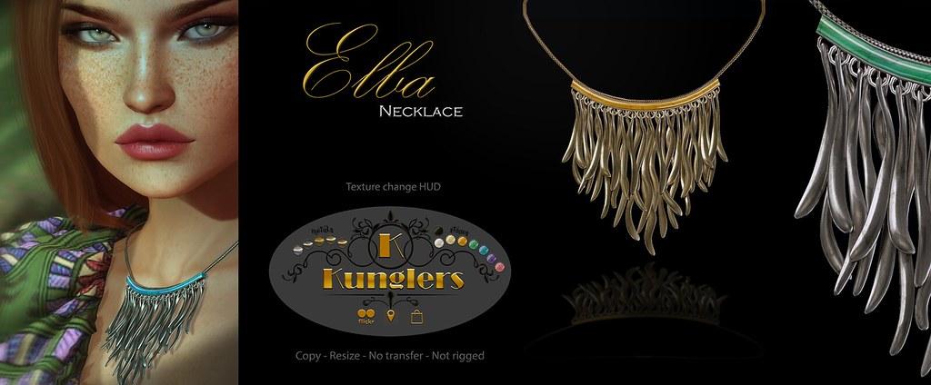 KUNGLERS Elba necklace
