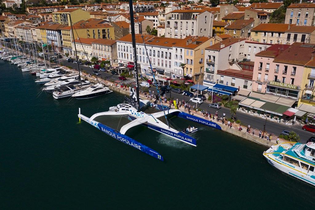 Tournée Maxi Banque Populaire XI - Port-Vendres