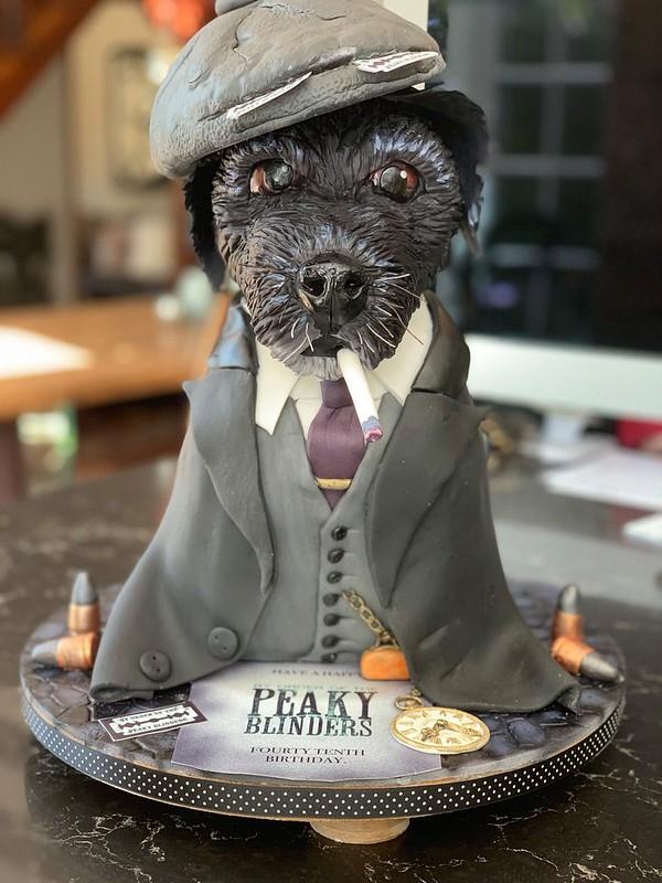 Dog Cake by Gina Tasker