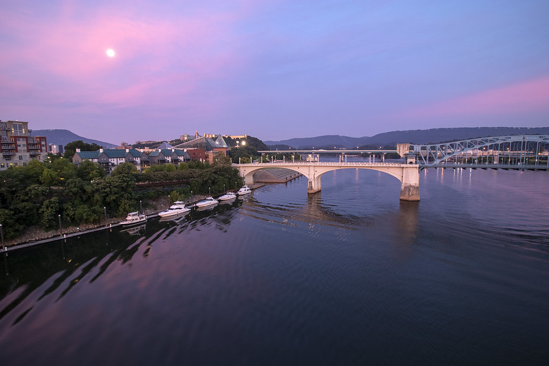 Sunrise, Tennessee River, Chattanooga, Tennessee 5