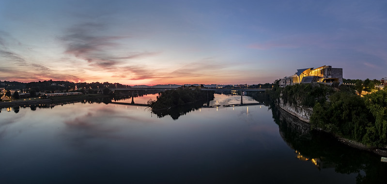 Sunrise, Tennessee River, Chattanooga, Tennessee 1