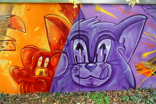 Graffiti 2021 in Ettlingen bei Karlsruhe