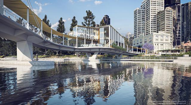 Kangaroo Point Green Bridge - Commercial opportunities