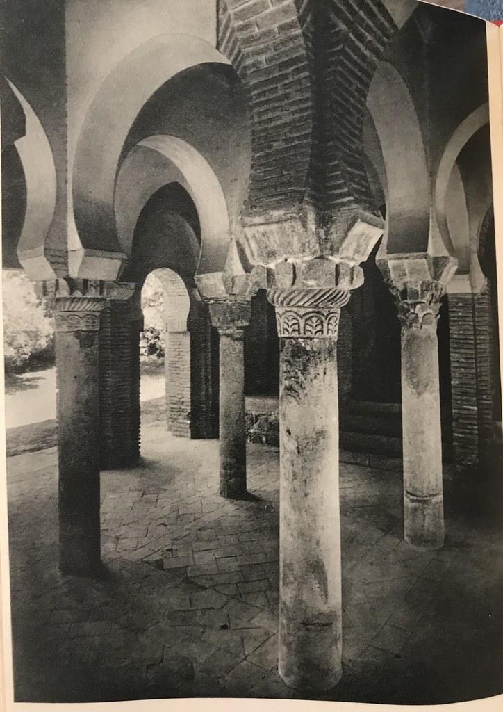 Mezquita del Cristo de la Luz en los años 50 (hacia 1955). Foto de Afrodisio Aguado