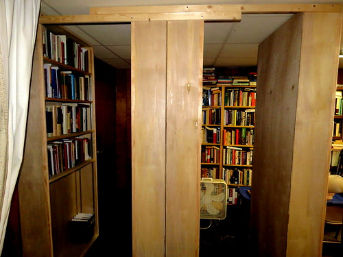 four more new book cases