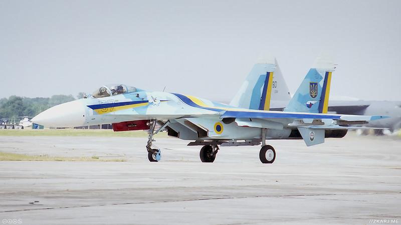 Sukhoi Su-27A Flanker – ARJ_1999_UKF5_18