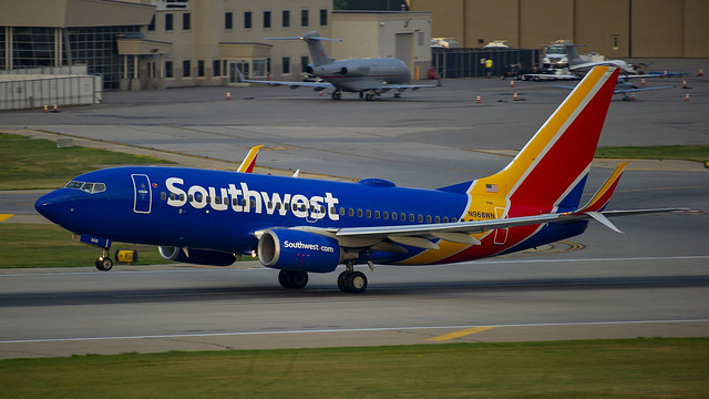Southwest Airlines Boeing 737-7H4(WL) N968WN