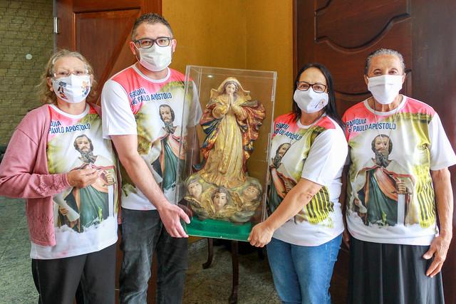 Nossa Senhora da Conceição a Paróquia Nossa Senhora Aparecida - Cocaia