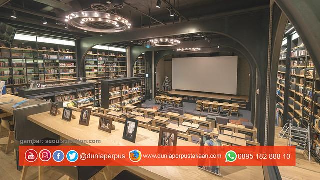 CGV Myeongdong Station Cine Library