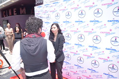 Briana Leslie Gonzalez interviewed at the Capitol Barbie Premiere in Albuquerque - DSC_0135
