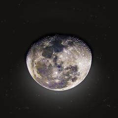 Lua Minguante Gibosa | Waxing Gibbous Moon