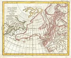 1772_Vaugondy_-_Diderot_Map_of_Alaska,_the_Pacific_Northwest_^_the_Northwest_Passage_-_Geographicus_-_DeFonte-vaugondy-1768